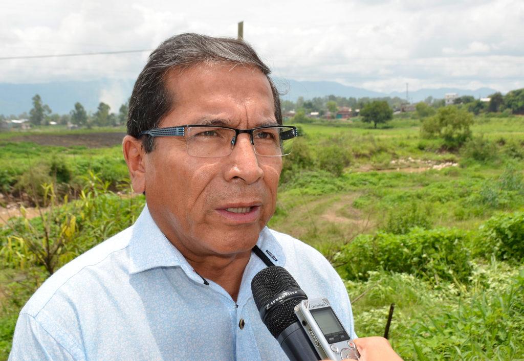 Presidente de Agua Potable Victor Galarza, Acueducto Arroyo Las Martas.
